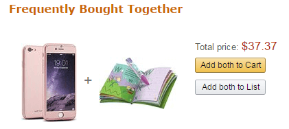 站外推广 Frequently Bought Together