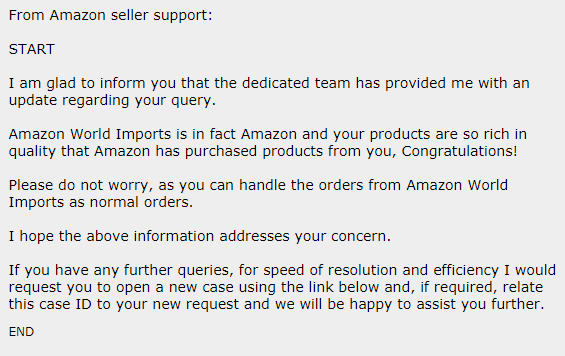 Amazon World Imports